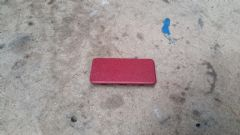 MAZDA MX5 EUNOS (MK1 1989 - 1997) DASH BOLT COVER /  BLANKING PANEL - RED